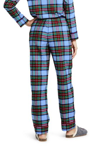 Women's Tall Print Flannel Pajama Pants