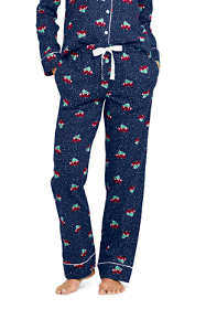 Women's Tall Print Flannel Pajama Pants