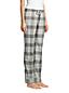 Le Pantalon de Pyjama en Flanelle à Motifs, Femme Stature Standard