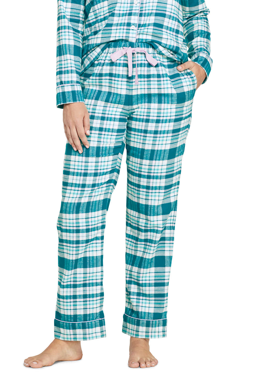 promo codes dirt cheap official images Women's Plus Size Print Flannel Pajama Pants
