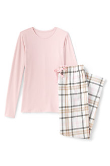 Women's Jersey/Flannel Pyjama Set