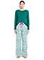 Baumwoll/Flanell Pyjama-Set für Damen