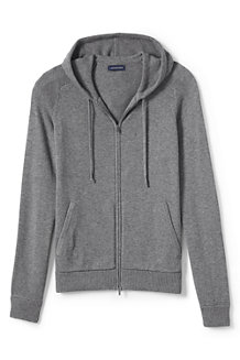Men's Merino/Cotton Sweater Hoodie