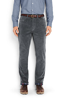 Men's Flannel-bonded Cord Jeans