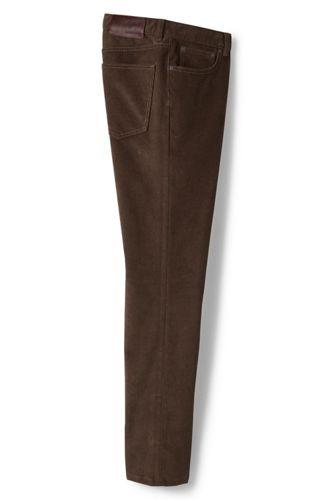 Le Pantalon en Velours Côtelé Doublé de Flanelle, Homme Stature Standard
