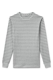 Gestreiftes Original Super-T Langarm-Shirt für Herren