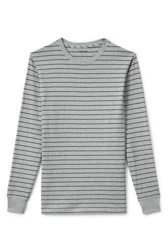 Men's Regular Long Sleeve Stripe Super-T