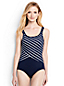 Women's Striped Tugless Swimsuit