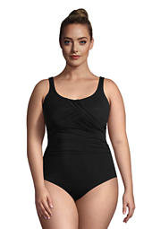 db5e6d3bfcc Women's Plus Size Slender Carmela Underwire One Piece Swimsuit with Tummy  Control