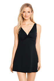 Women's Slender Underwire V-neck Swimdress