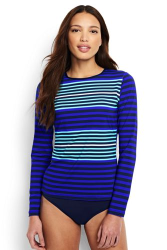 Women's Stripe Rash Vest