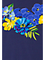 Le T-Shirt de Bain Fleurs Italiennes, Femme Stature Standard