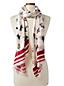 Maxi-Schal mit Pinguin-Print für Damen
