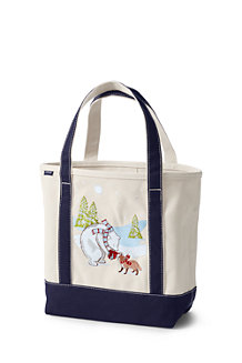Women's Festive Embroidered Tote Bag
