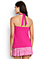 Women's Regular Beach Living Bandeau Halterneck Tankini Top