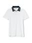 Piqué-Poloshirt mit Webkragen für große Jungen