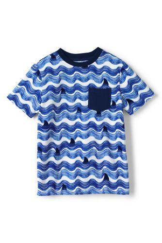 Toddler Boys' Wavy Stripe T-shirt