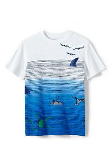Le T-Shirt Graphique Coloris Dégradé, Garçon