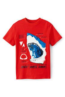 Grafik-Shirt mit Comic-Motiv für Jungen