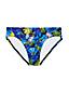 Women's Beach Living Floral Mid Waist Bikini Bottoms
