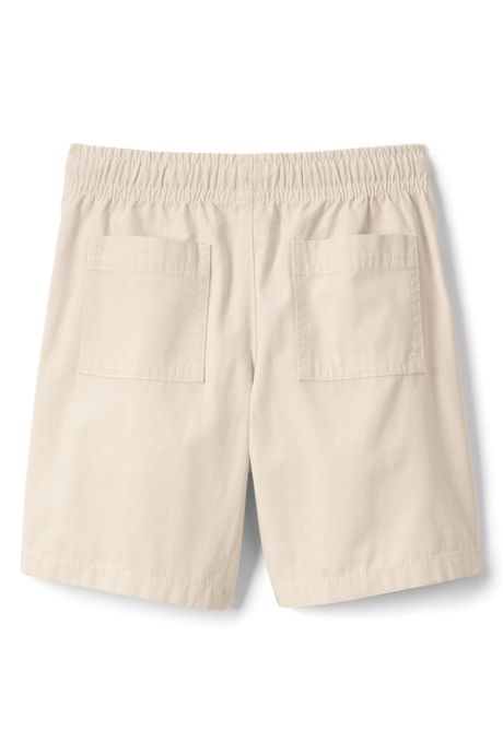 Little Boys Slim Pull On Woven Shorts