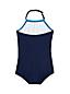 Toddler Girls' Beachcomber Halterneck Graphic Swimsuit