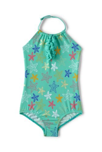 Toddler Girls' Beachcomber Halterneck Swimsuit