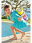 Toddler Girls' Long Sleeve Hooded Beach Cover Up