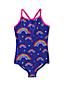 Toddler Girls' Smart Swim Cross-back Swimsuit