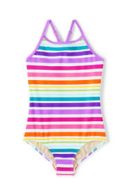 Girls Plus Crossback One Piece Swimsuit