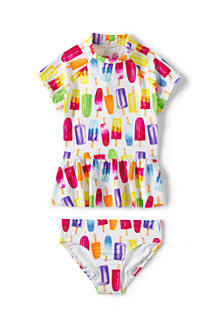 Girls' Beachcomber Rash Guard Set