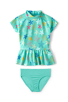 Girls' Beachcomber Rash Vest Set