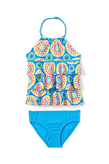 Girls' Lush Tropic Tankini