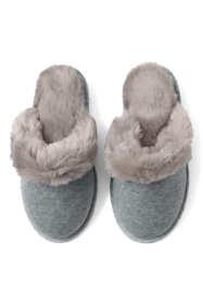 Girls Cozy Scuff Slippers