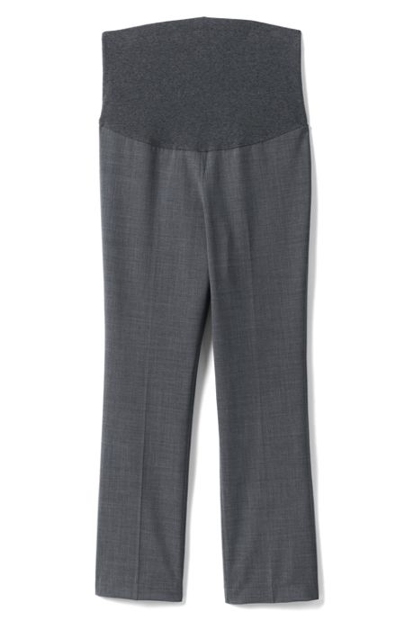 Maternity Washable Wool Straight Leg Pants