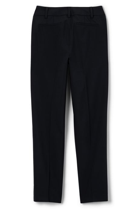 Women's Petite Washable Wool Slim Pants