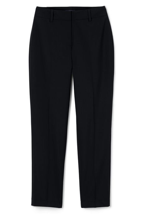 Women's Plus Size Washable Wool Slim Pants
