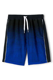 Little Boys Active Curved Swim Trunks