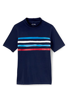 Boys' Short Sleeve Graphic Rash Vest