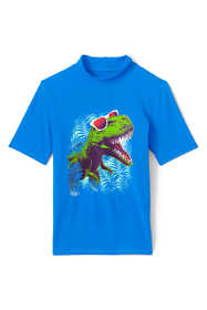 Boys Short Sleeve UPF 50 Sun Protection Rash Guard