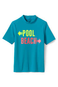 Little Boys Short Sleeve Rash Guard