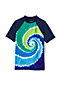 Little Boys' Short Sleeve Colourblock Graphic Rash Vest