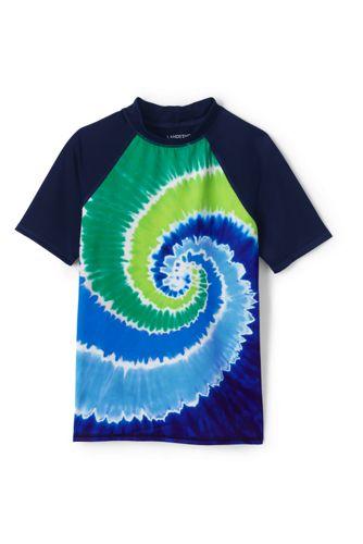 Le T-Shirt de Bain Bloc de Couleurs, Petit Garçon