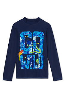 Boys' Long Sleeve Graphic Rash Vest