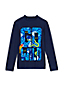 Toddler Boys' Long Sleeve Graphic Rash Vest