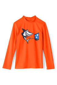 Boys Long Sleeve UPF 50 Protection Rash Guard
