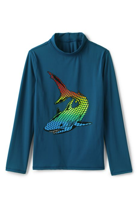 Little Boys Long Sleeve UPF 50 Protection Rash Guard