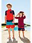 RashGuard Badeshirt Colorblock für kleine Jungen