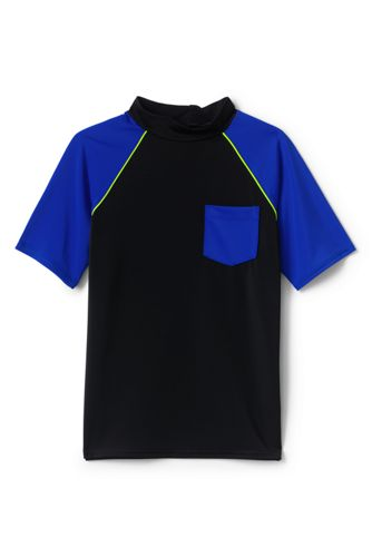 Little Boys' Colourblock Rash Vest