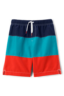 Boys' Colourblock Swim Shorts